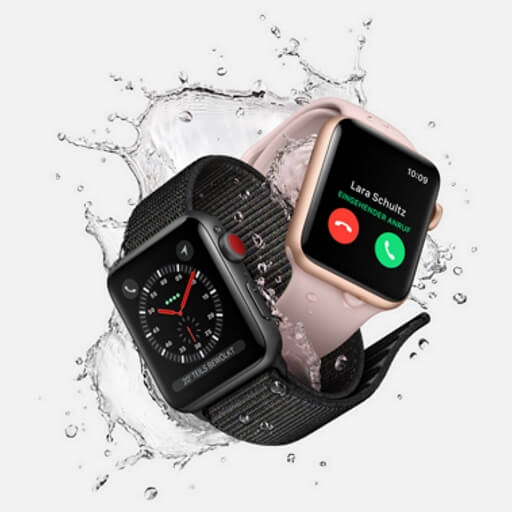 Apple Watch Splash