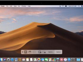 Screenshot mit Boardmitteln unter macOS machen