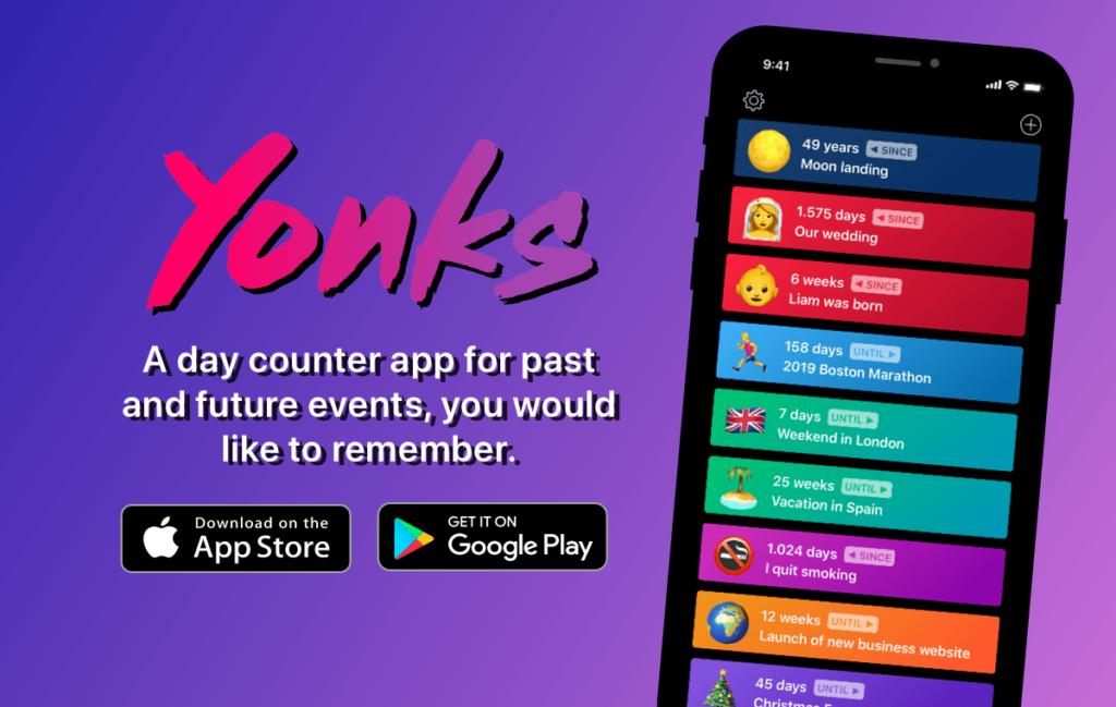 Yonks - Der Day-Counter mit Persönlichkeit